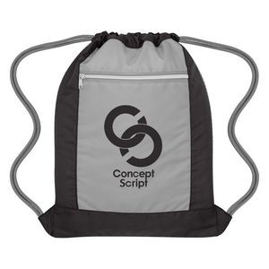 Flip Side Drawstring Sports Bag