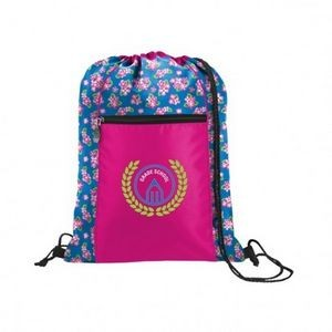 Printed Accent Sport Pack Backpack