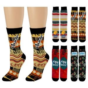 Vibrant Custom Socks